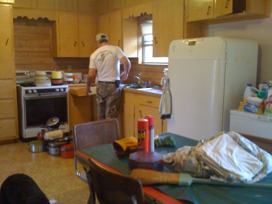 More paint, new appliances . . .